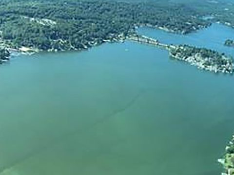 DEP ADVISES PUBLIC TO AVOID CONTACT WITH LAKE HOPATCONG WATER - Body of water